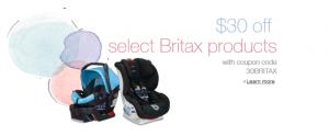 britax coupon